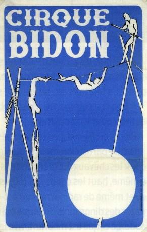 Cirque Bidon - affiche