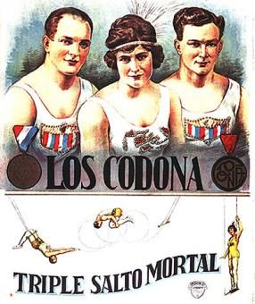 le Triple des Codona - affiche