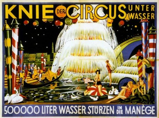 Les trois frères Knie - Circus unter Wasser