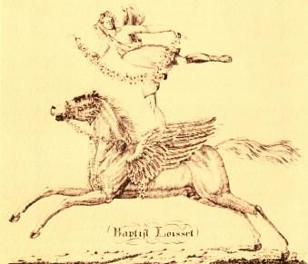 Baptiste Loisset à cheval