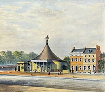 Ricketts Circus - la façade à Philadelphie