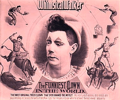 Whimsical Walker - clown