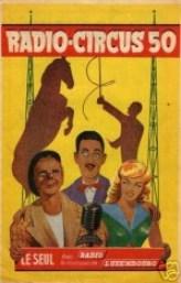 Radio-Circus 1950 - affiche