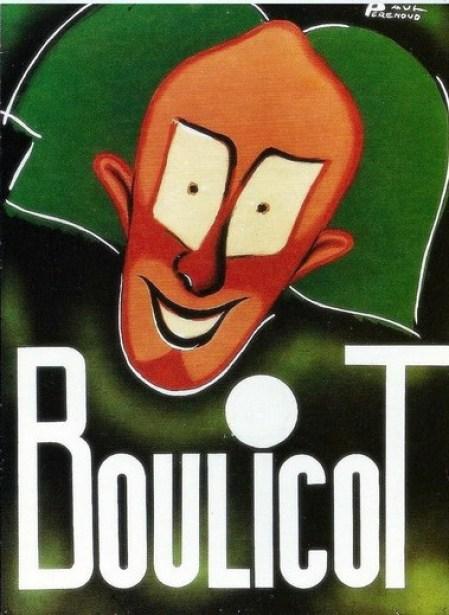 Boulicot - affiche P. Perenoud