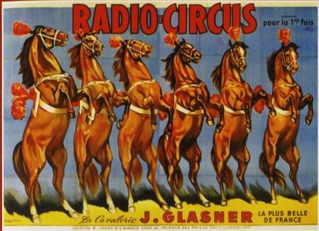 Cavalerie Glasner au Radio-Circus 1957