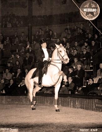 Frédy Knie - 1953 - photo Pierre J. Dannès
