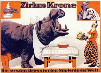 Nilspferd - Krone