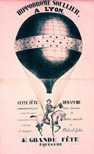Hippodrome Soullier - en ballon