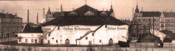 Cirque Schumann à Dresde