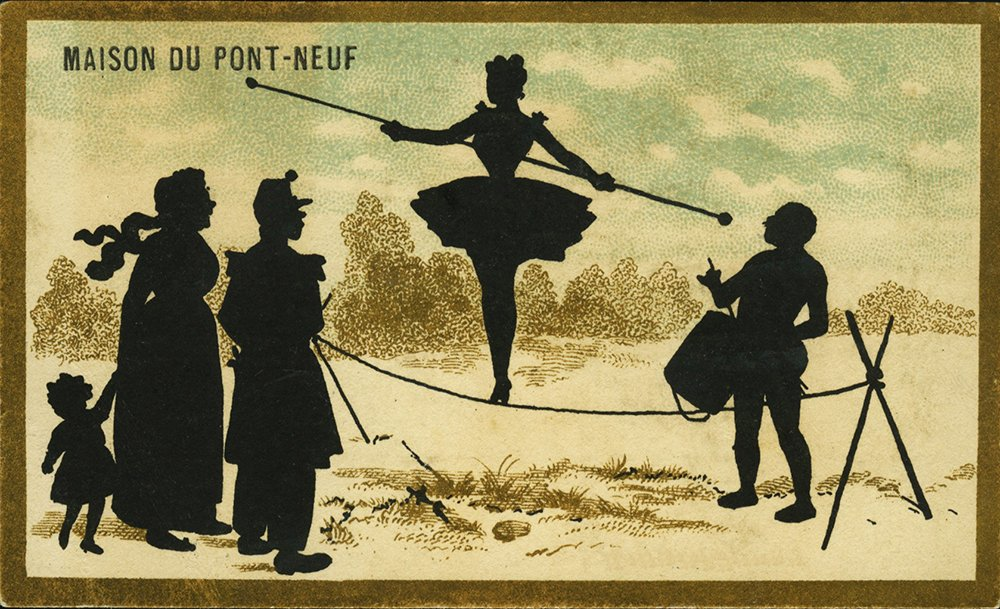 Fable de Florian : Le danseur de corde et le balancier