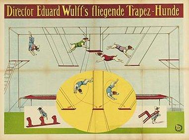 Le singe trapéziste - affiche