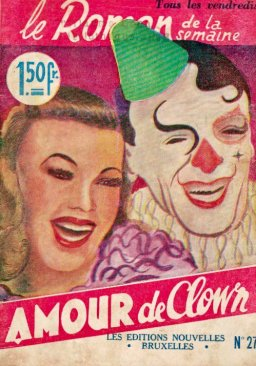 Amour de Clown - couverture