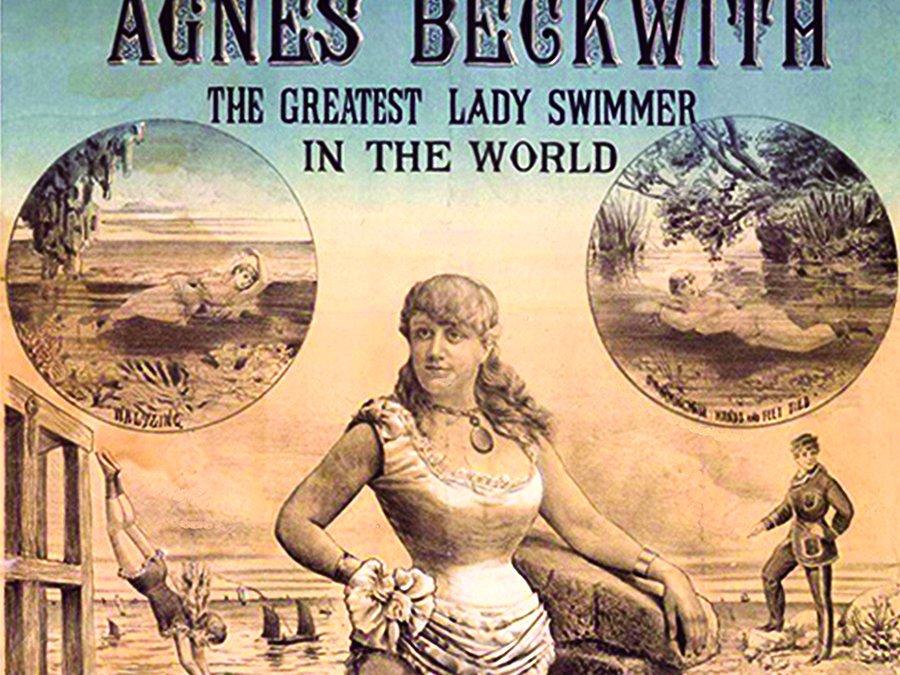 Agnes Beckwith, l'étoile en maillot de bains