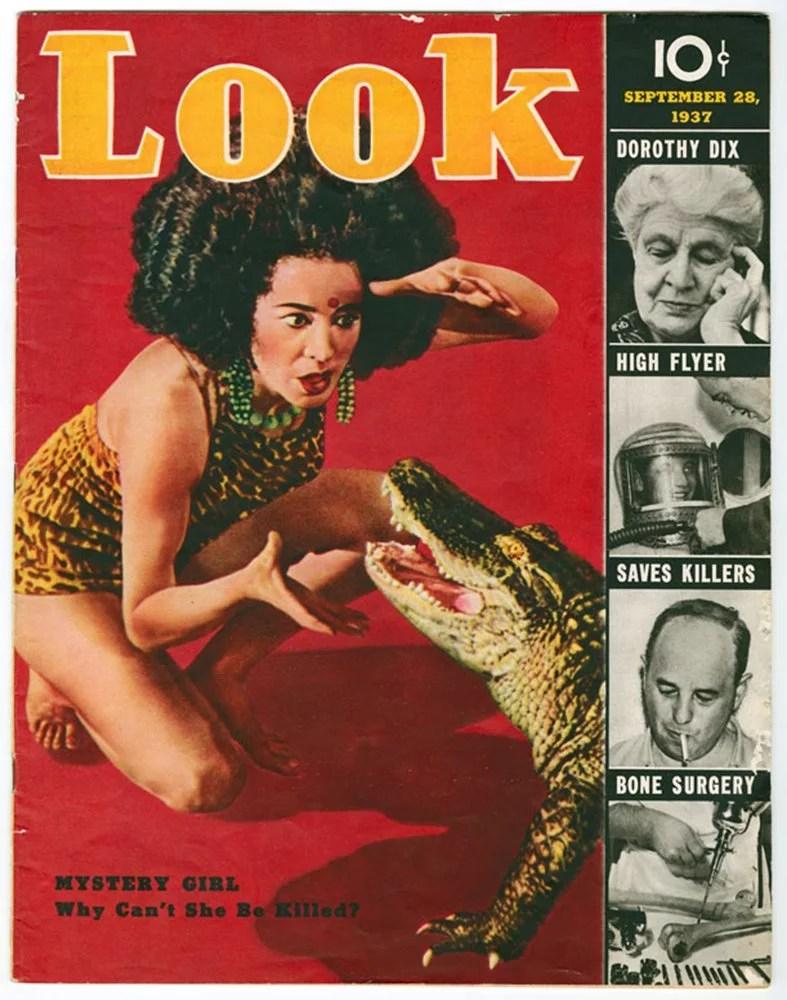 La revue Look - couverture