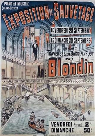 Affiche du Palais de l'industrie - Blondin