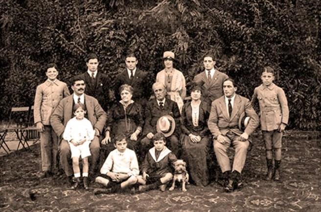 Augusto Frediani avec sa famille - photo A. A.