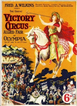 Great Victory Circus - programme