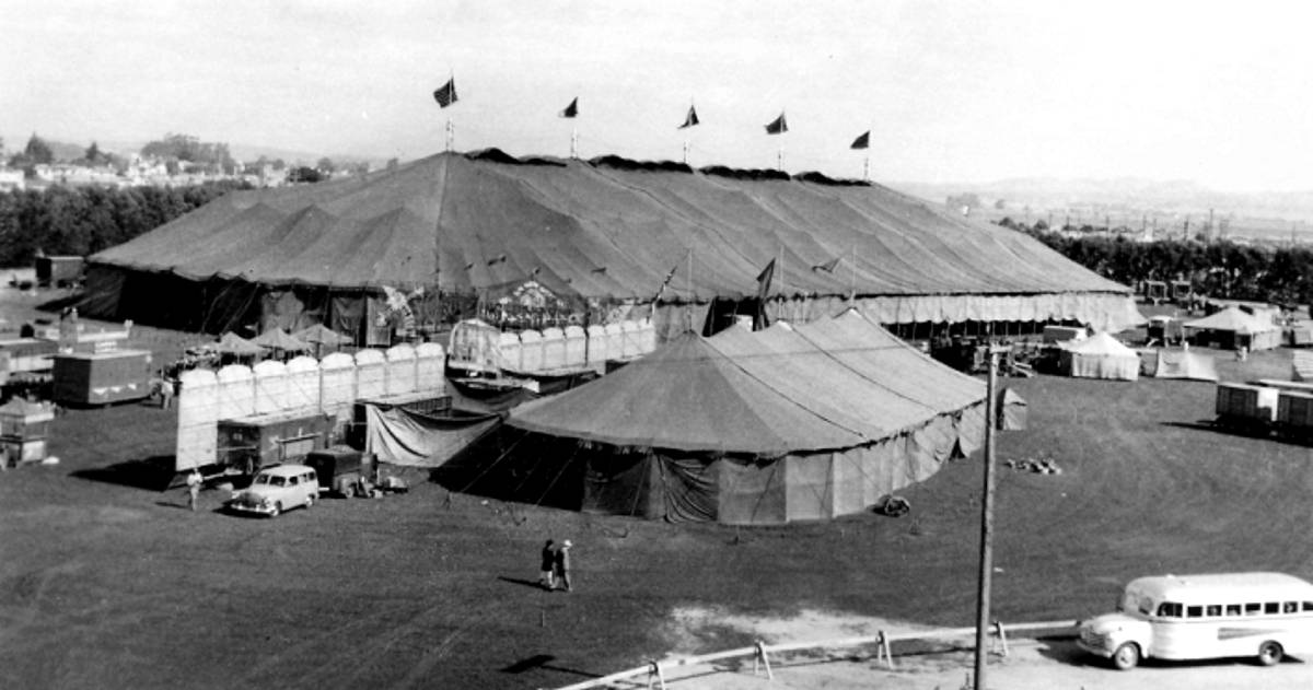 Image result for Barnums circus big top