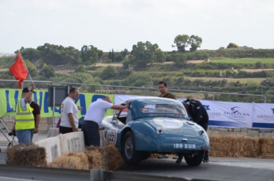 Crashed Car, Valletta Grand Prix 2012