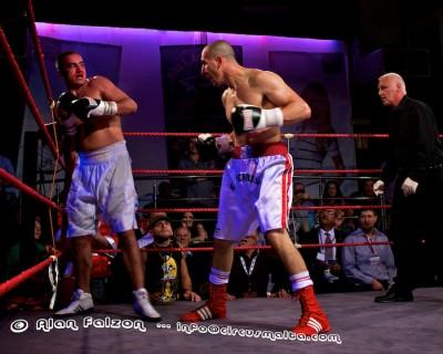EBF Tyrone Borg vs Shaun William
