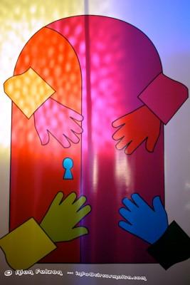 Light, Colour, hands
