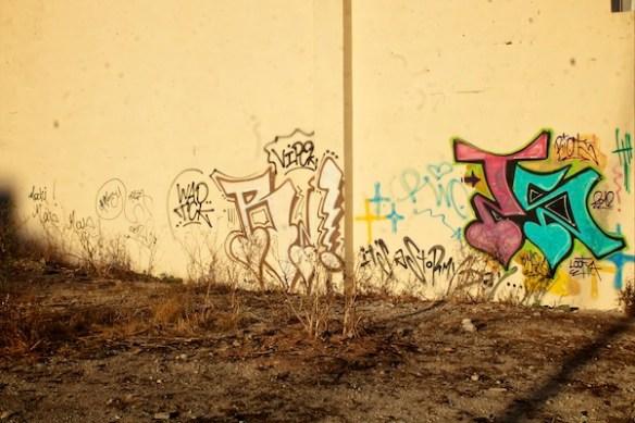 Alan Falzon,Circus Malta,Graffiti at sunset