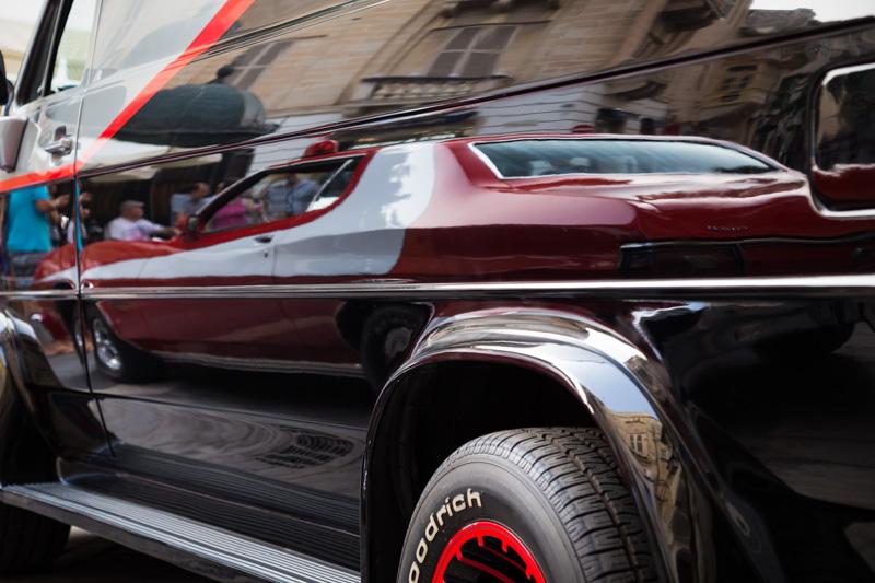 American Classic Car Show, Merchant Street, Valletta