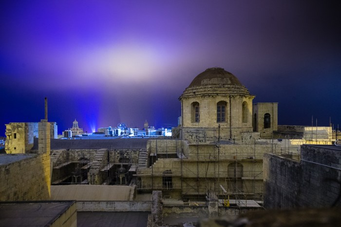 View from my home, Valletta
