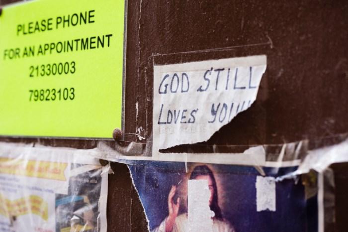 God still loves you