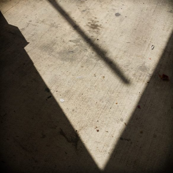 Triangles by shadows.