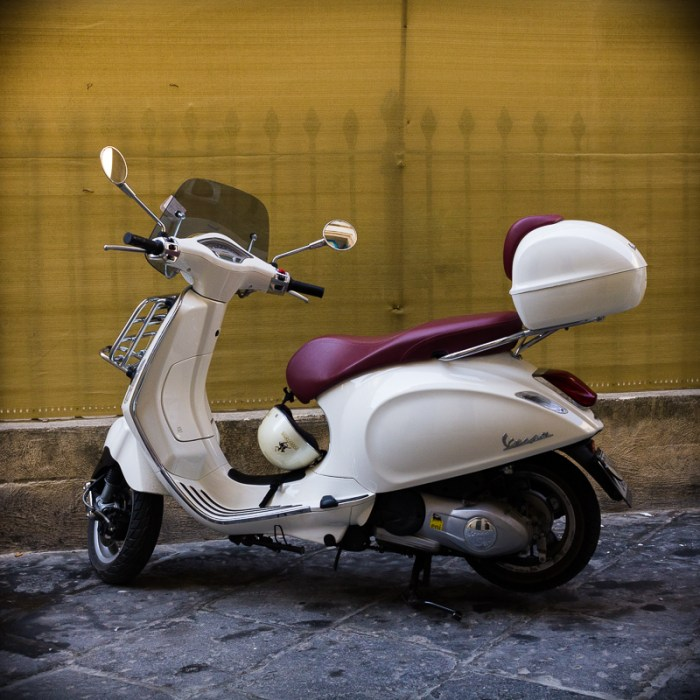 Older scooter.