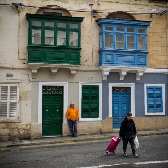 Street colours, Floriana