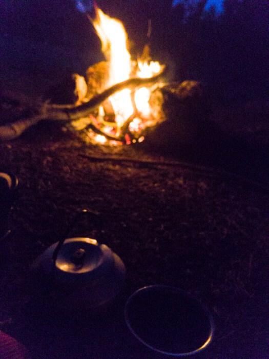 Camping Tea Pot, Nature,Outdoors, Adventure