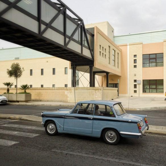 Triumph at Mater Dei, Classic Car, British Classic, Mater Dei, Transport