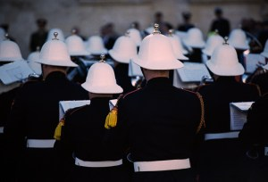 Trooping of the Colours, AFM, Darkroom Malta, 35mm Film, St.George's Square,Republic Day Parade, 13th December, Valletta