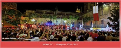 Valletta Champions 2010-2011 - Celebrations - 7 May