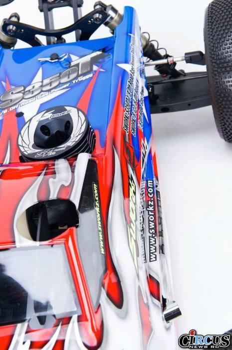S350T Pro Truggy detail carro