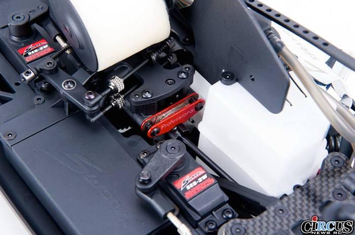 S350T Pro Truggy details frein
