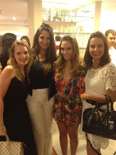 Eu, a empresária e Top Cabeleireira Narandra Gouveia, Patricia Bonaldi e Shirleide Lima