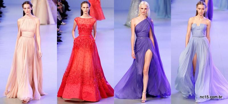 Inspirações madrinhas da alta costura de Paris