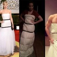 Jennifer Lawrence e a maldição de seus vestidos Dior