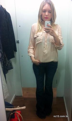 camisa e calça jeans mob para a c&a