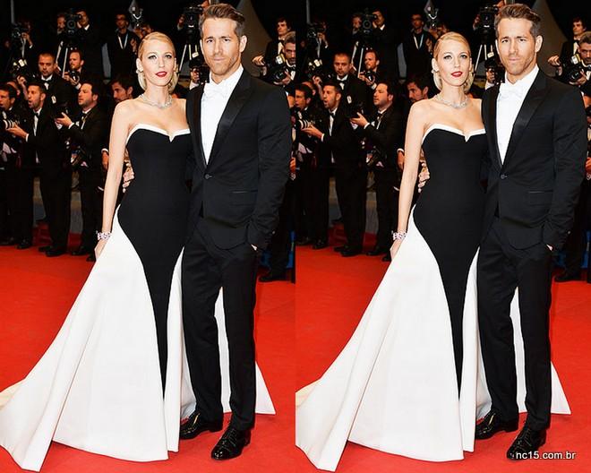 Blake Lively e Ryan Reynolds, simplesmente maravilhosos de Gucci