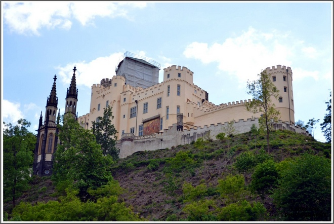 Koblenz -  Castelo Stolzenfels