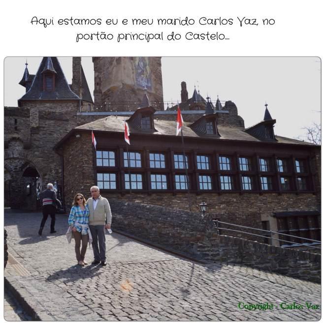Castelo de Reichsburg Cochem na Alemanha