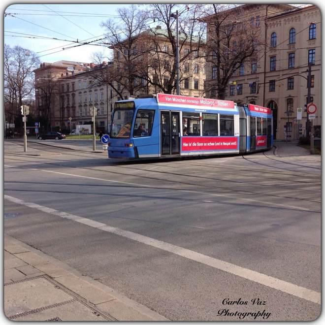 ônibus elétrico em munique