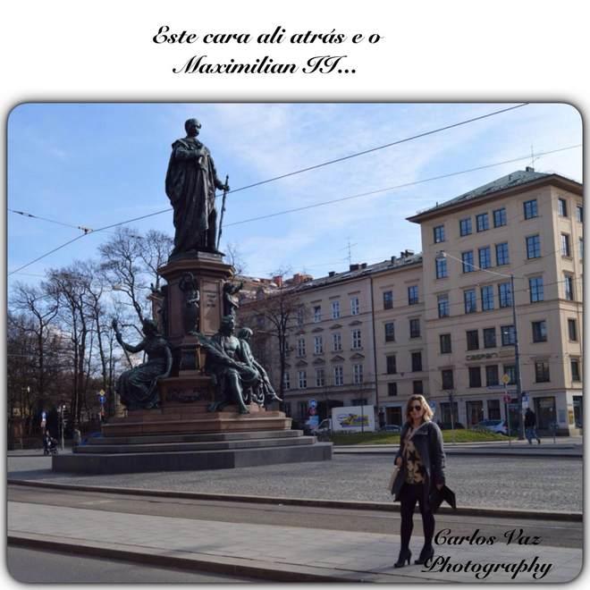 estátua de maximilian II