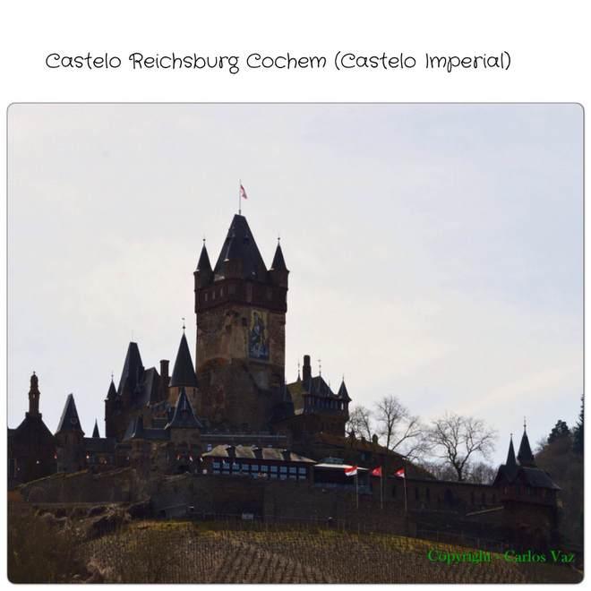 castelo medieval do século XI, Reichsburg Cochem