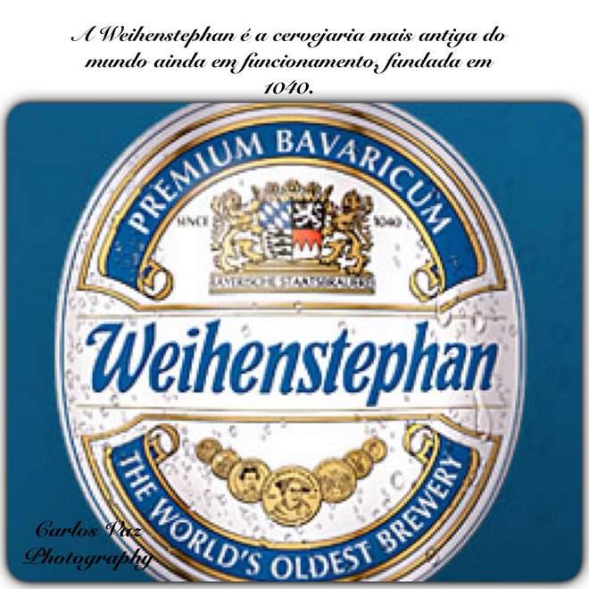 weihenstephan, a cerveja mais antiga do mundo em funcionamento, foi fundada em 1040