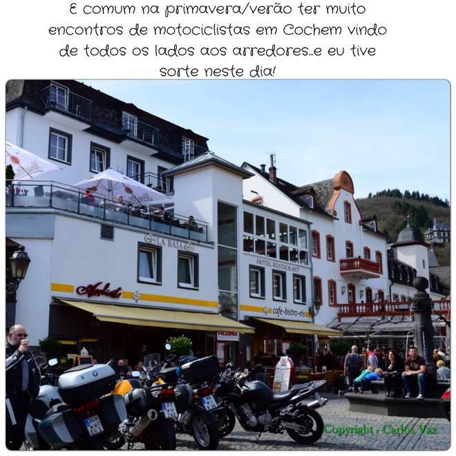 encontro de motociclistas em Cochem